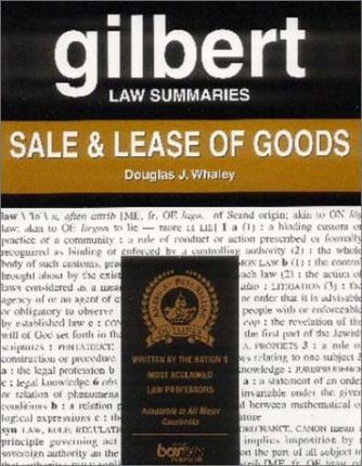 Sales & Lease of Goods