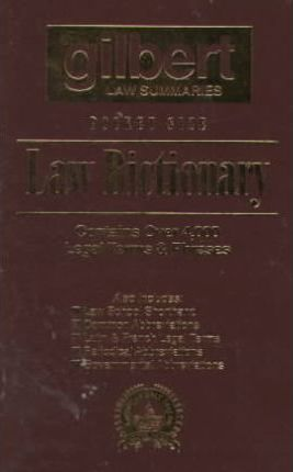 Pocket Size Law Dictionary, 2D (Brown)