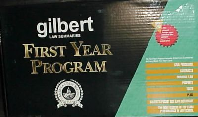 Gilbert Law Summ 1st Year Prog