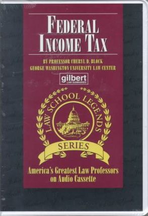 Federal Income Tax (Audiocassette)