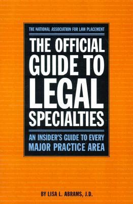 Official Guide to Legal Specialties
