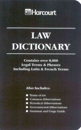 Harcourt Law Dictionary