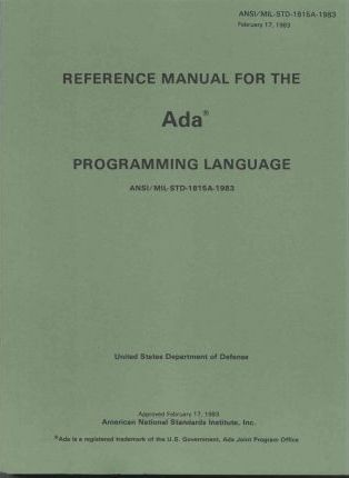 Reference Manual for the ADA Programming Language
