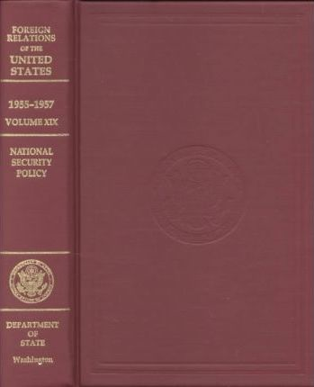 Foreign Relations of the United States, 1955-57