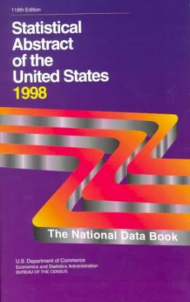 Statistical Abstract of the United States, 1998