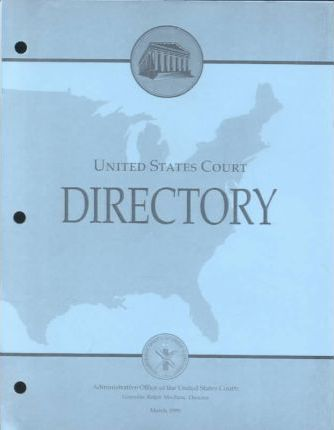 United States Court Directory March 1999