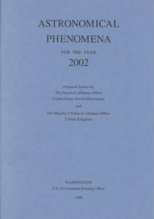Astronomical Phenomena for the Year 2002