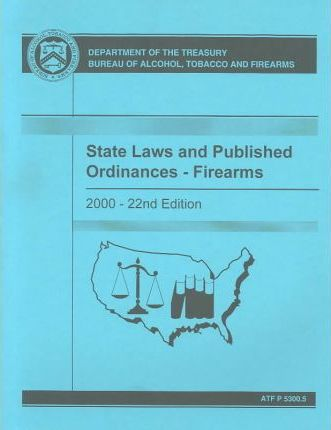 State Laws and Published Ordinances, Firearms 2000