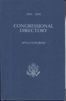 Official Congressional Directory, 2001-2002 (Cloth)