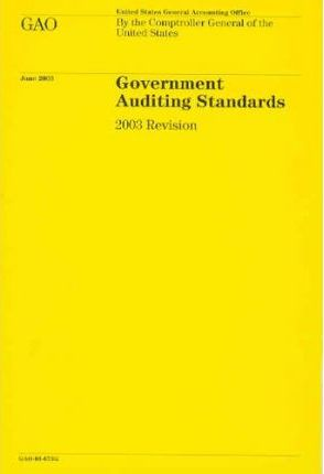 Government Auditing Standards, 2003