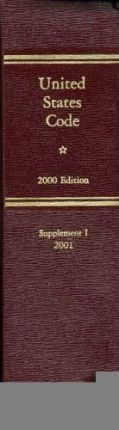 United States Code, 2000, Supplement 1