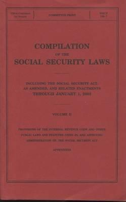 Compilation of the Social Security Laws, V. 2