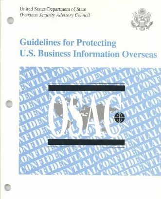 Guidelines for Protecting United States Business Information Overseas