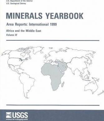 Minerals Yearbook, 1999