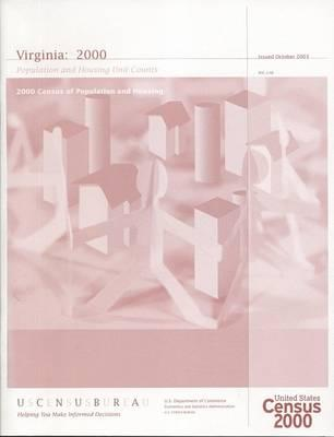 2000 Census of Population and Housing, Virginia, Population and Housing Unit Counts