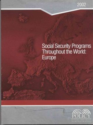 Social Security Programs Throughout the World