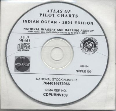 Atlas of Pilot Charts, Indian Ocean