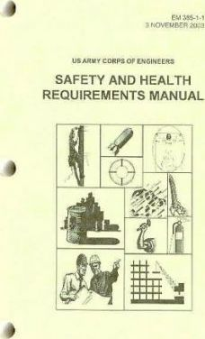 Safety and Health Requirements Manual, November 3, 2003