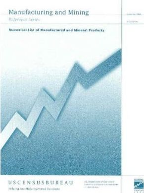 Numerical Ist of Manufactured and Mineral Products