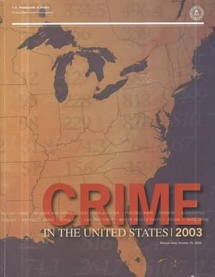 Crime in the United States, 2003