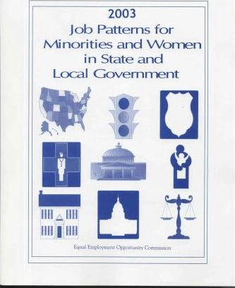 Job Patterns for Minorities and Women in State and Local Government, 2003