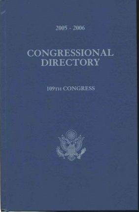 Official Congressional Directory, 2005-2006: 109th Congress