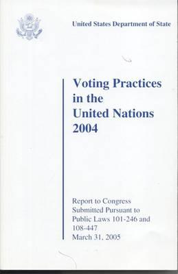 Voting Practices in the United Nations, 2004
