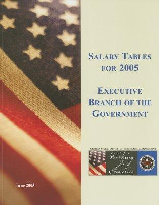 Salary Tables for Executive Branch of the Government