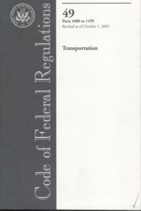 Code of Federal Regulations: Transportation