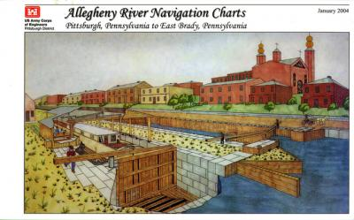 Allegheny River Navigation Charts, Pittsburgh, Pennsylvania to East Brady, Pennsylvania (Pittsburgh District)