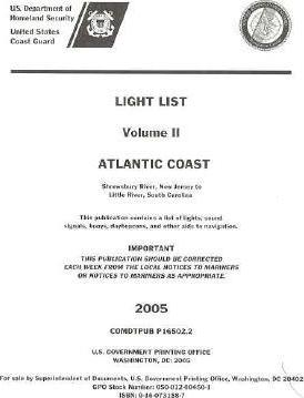 Light List, 2005, V. 2