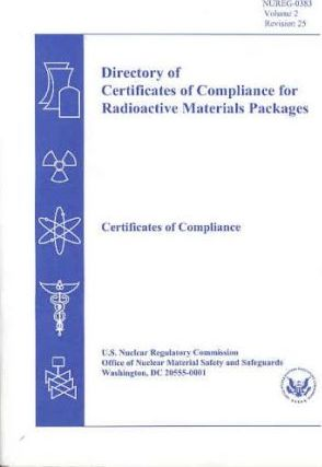 Directory of Certificates of Compliance for Radioactive Materials Packages