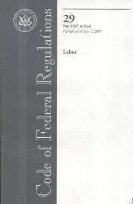 Code of Federal Regulations: Labor