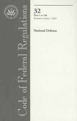 Code of Federal Regulations: National Defense