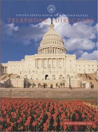 United States House of Representatives Telephone Directory, Spring/Summer 2006