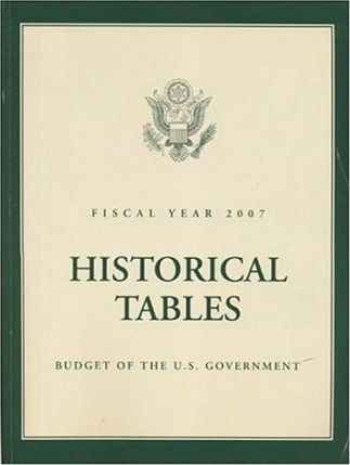 Historical Tables: Budget of the United States Government, Fiscal Year 2007