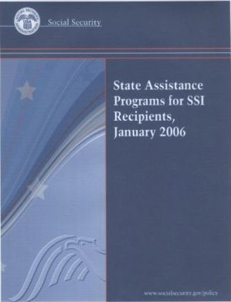 State Assistance Programs for Ssi Recipients, January 2006