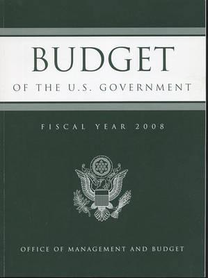 Budget of the United States Government Fiscal Year