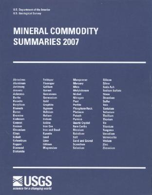 Mineral Commodity Summaries, 2007