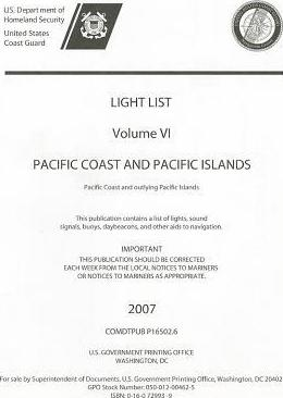 Pacific Coast and Pacific Islands