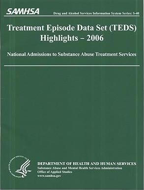 Treatment Episode Data Set (Teds) 2006 Highlights: National Admissions to Subststance Abuse Treatment Services