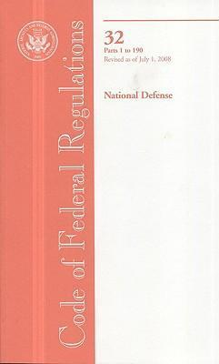 Code of Federal Regulations, Title 32, National Defense, PT. 1-190, Revised as of July 1, 2008