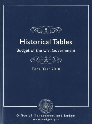 Historical Tables: Budget of the U.S. Government, Fiscal Year 2010