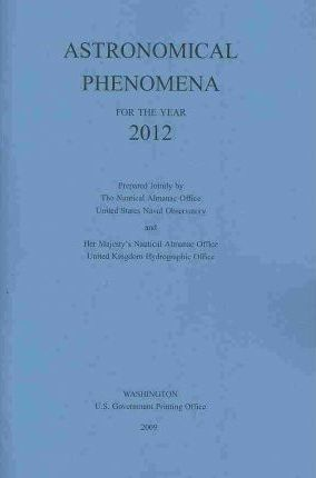 Astronomical Phenomena for the Year 2012