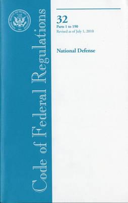 Code of Federal Regulations, Title 32, National Defense, PT. 1-190, Revised as of July 1, 2010