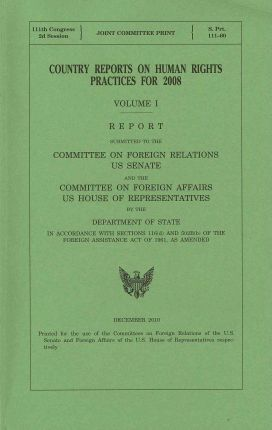 Country Reports on Human Rights Practices for 2008