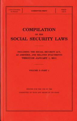 Compilation of the Social Security Laws Including the Social Security Act