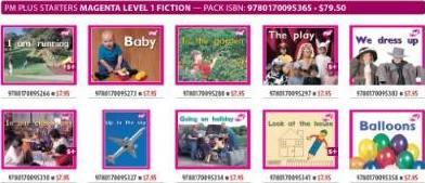 PM Plus Magenta 1 Fiction Mixed Pack