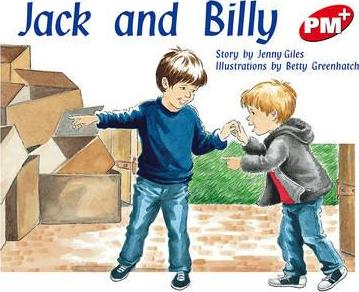 Jack and Billy PM PLUS Level 3 Red