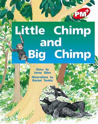 Little Chimp and Big Chimp PM PLUS Level 4 Red